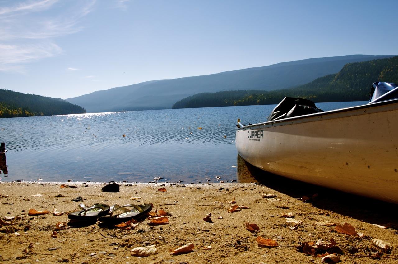 Canoe-on-beach