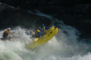 Rafting in Wells Gray!