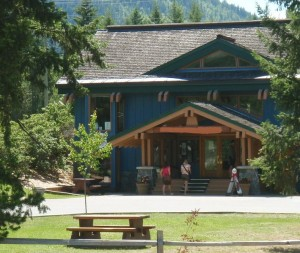 Wells Gray Park Information Centre, Clearwater, BC